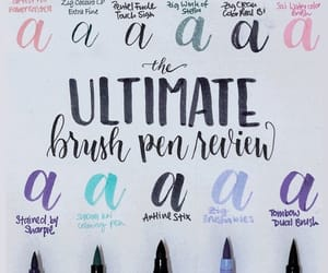 hand lettering, calligraphy pens, and callgraphy image