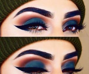 beauty, eye makeup, and makeup image