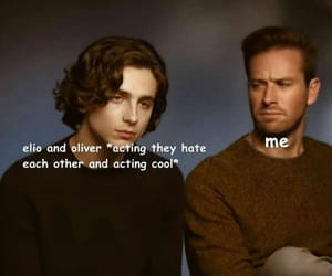 <3, oliver, and armie hammer image