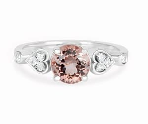 etsy, pink, and unique engagement rings image
