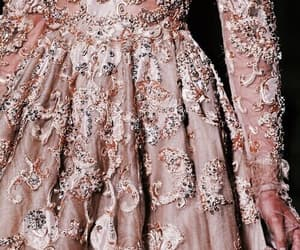 dress, fashion, and rose gold image