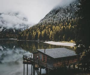 nature, adventure, and cabin image