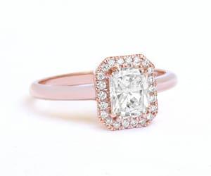 etsy, unique engagement ring, and unique diamond ring image