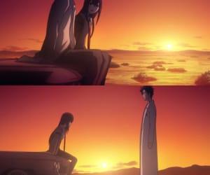 anime, kurisu, and crying image