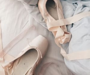 ballerina, shoes, and ballet image