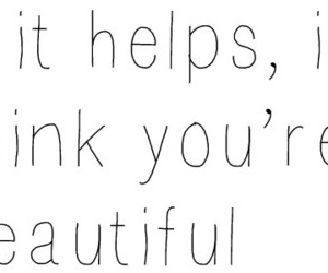 beautiful, quote, and help image