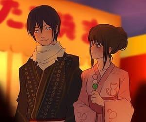 noragami and yatori image