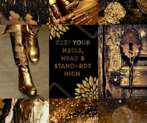 aesthetic, cool, and gold image