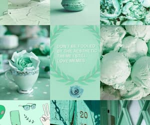 color, mint, and pastel image
