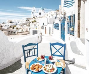 Greece, summer, and breakfast image