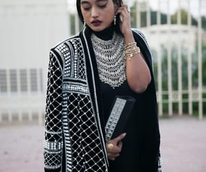 mode, muslim, and fashion image