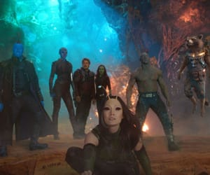Avengers, space, and mantis image