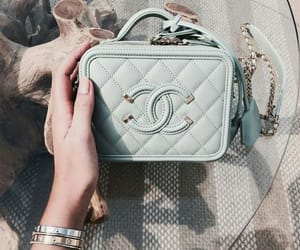 bag, chanel, and pastel colors image