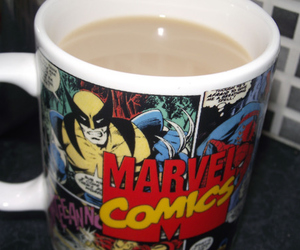 Marvel, comics, and cup image