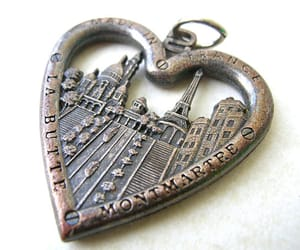 etsy, montmartre, and heart pendant image