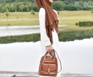 beauty, fashion, and hijab image