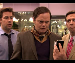 andy, jim, and office image