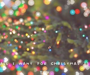 bokeh, christmas, and wallpaper image