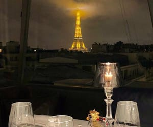 champagne, paris, and love image
