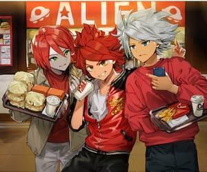 anime, hiroto kiyama, and inazuma eleven image