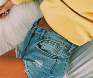 fashion, summer, and yellow image