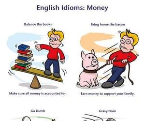 english, idioms, and money image