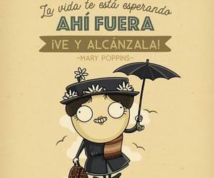 Mary Poppins, vida, and frases español image