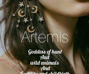 artemis, Greece, and myth image