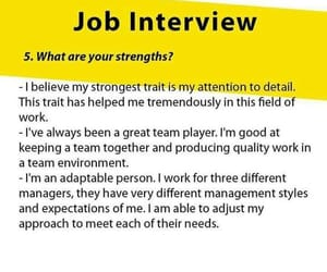 interview and job image