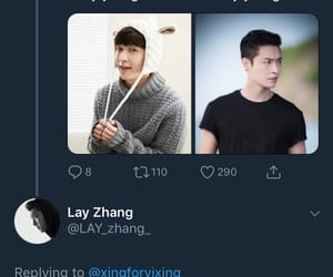 exo, lay, and twitter image