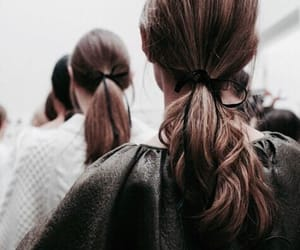 girl and ponytail image