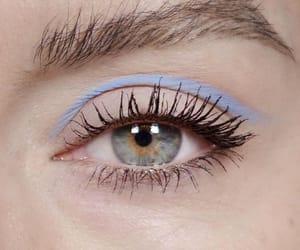 eyes, eyelashes, and makeup image