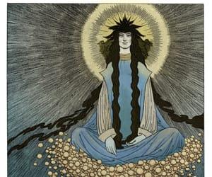 Art Nouveau, god, and mythology image