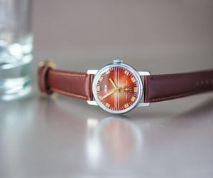 etsy, minimalist watch, and stripy face watch image