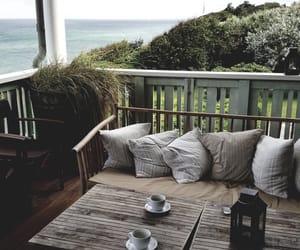 coffee, design, and sea image