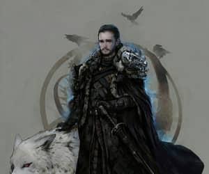 jon snow, daenerys targaryen, and game ot thrones image