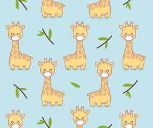 wallpaper and giraffe image