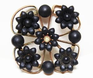 etsy, victorian, and antique brooch image