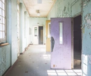 abandoned places, asylum, and building image