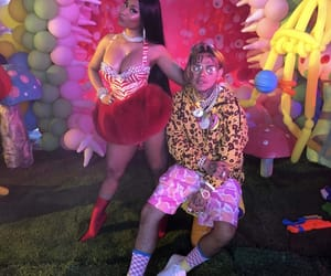 fefe, nicki minaj, and 6ix9ine image