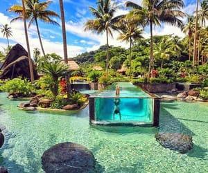fiji, laucala island, and pacific ocean image