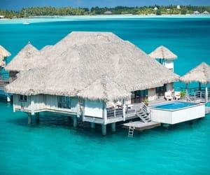 france, bora bora islands, and french polynesia image