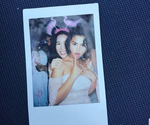 selena gomez, girls, and polaroid image