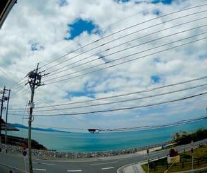 japan, okinawa, and sea view image
