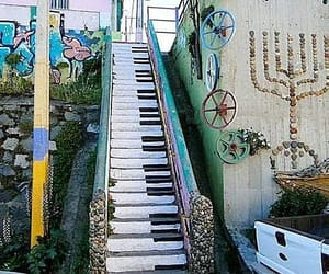 Beethoven, stairs, and chile image