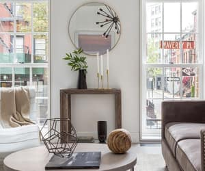brownstone, city, and decor image
