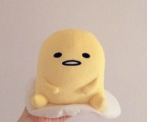 aesthetic, yellow, and gudetama image