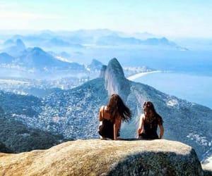 brazil, mountain, and rio de janeiro image