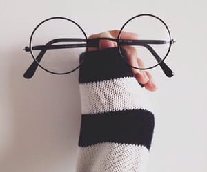 glasses, tumblr, and harry potter image