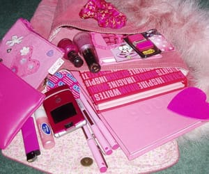 pink, girly, and aesthetic image